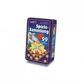 Noris Spiele - 99iger Spielesammlung in Metallbox