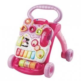 VTech - Baby - Spiel- und Laufwagen pink