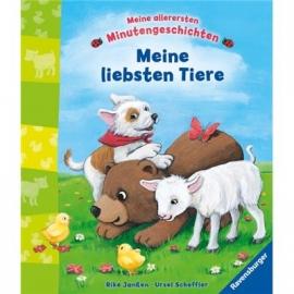 Ravensburger Buch - Meine allerersten Minutengeschichten: Meine liebsten Tiere