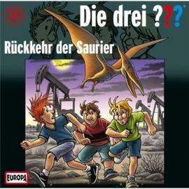 Europa - CD - Die drei ??? Kids - Rückkehr der Saurier