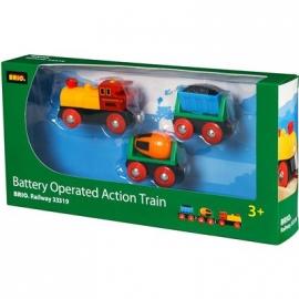 BRIO Bahn - Zug mit Batterielok