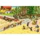 Ravensburger Puzzle - Rahmenpuzzle - Pferde auf der Koppel, 46 Teile