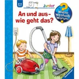 Ravensburger Buch - Wieso? Weshalb? Warum? - Junior - An und aus - wie geht das?