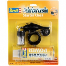 Revell Airbrush - Spray Gun starter class & Druckgasdose