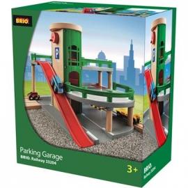 BRIO Bahn - Parkhaus, Straßen&Schienen