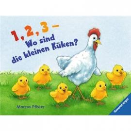 Ravensburger Buch - 1, 2, 3 - Wo sind die kleinen Küken?
