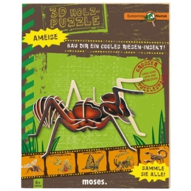 3D-Holzpuzzle Ameise