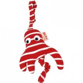 Käthe Kruse - Kindersitzanhänger Octopussi rot/weiß