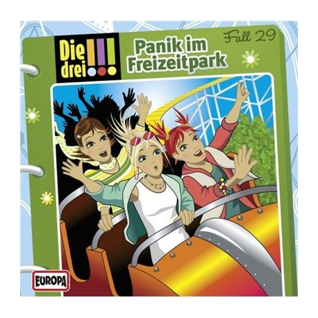 Europa - Die drei !!! CD Panik im Freizeitpark, Folge 29
