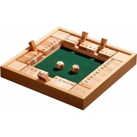 Shut The Box, 12er, fuer 1-4
