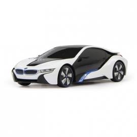 Jamara - Fahrzeug, BMW I8 1:24, weiß, 27 MHz