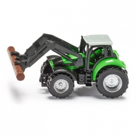 SIKU Super - Traktor mit Baumstammgreifer