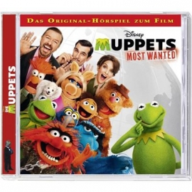 KIDDINX - CD Disney - The Muppets most wanted