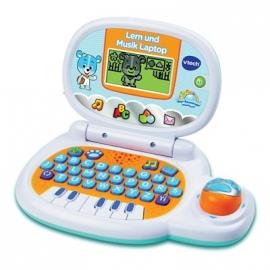 VTech - Baby - Lern und Musik Laptop, blau