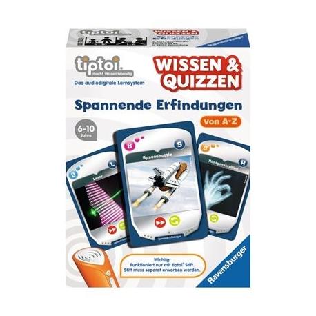 Ravensburger Spiel - tiptoi - Wissen & Quizzen: Spannende Erfindungen