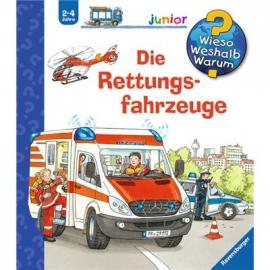 Ravensburger Buch - Wieso? Weshalb? Warum? - Junior - Die Rettungsfahrzeuge