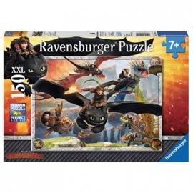 Ravensburger Puzzle - Drachenzähmen leicht gemacht, 150 XXL-Teile