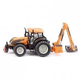 SIKU Farmer - Traktor mit Kuhn Böschungsmähwerk