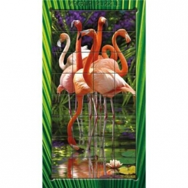 Piatnik - 3D Magna Puzzle Flamingo