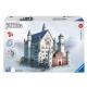 Ravensburger Puzzle - 3D Vision Puzzle - Schloss Neuschwanstein, 216 Teile