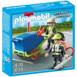 PLAYMOBIL® - City Action - Stadtreinigung: Stadtreinigungs-Team