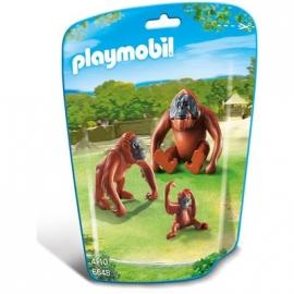 PLAYMOBIL® 6648 - City Life - Zoo: 2 Orang-Utans mit Baby
