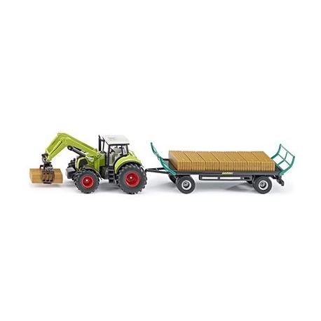 mukk m nster siku farmer traktor mit ballengreifer. Black Bedroom Furniture Sets. Home Design Ideas