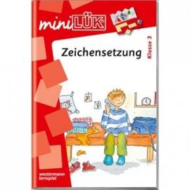 miniLÜK - Zeichensetzung Klasse 3