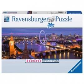 Ravensburger Puzzle - Panorama Puzzle - London bei Nacht, 1000 Teile