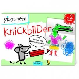 Oetinger - Krickel-Krakel - Knickbilder-Block