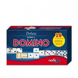 Noris Spiele - Deluxe Domino Double 6 in Magnetschachtel