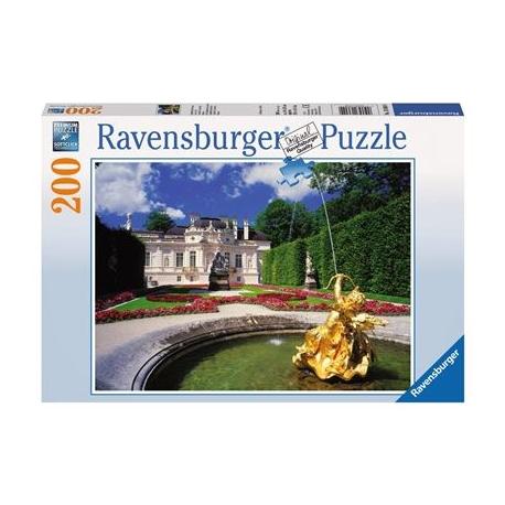 Ravensburger Puzzle - Linderhof im Sommer, 300  XXL-Teile