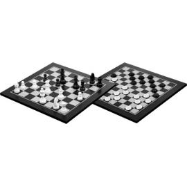 Schach-Dame-Set, schwarz gebe