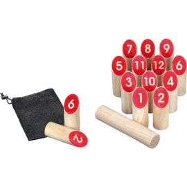 Number Kubb Game