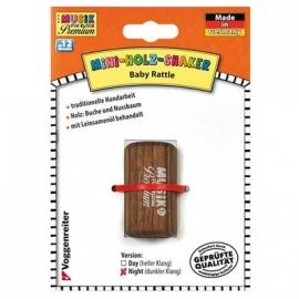 Voggy s Kinderwelt - Mini-Holz-Shaker (dunkel) - Musik für Kleine Premium