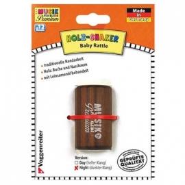 Voggy s Kinderwelt - Holz-Shaker (dunkel) - Musik für Kleine Premium