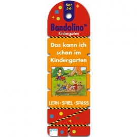 Arena Verlag - Bandolino - Set 56: Das kann ich schon im Kindergarten