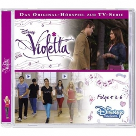 KIDDINX - CD Disney: Violetta - Folge 5 & 6