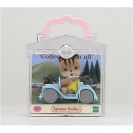 Sylvanian Families - Minibox - Eichhörnchen im Auto