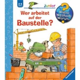 Ravensburger Buch - Wieso? Weshalb? Warum? - Junior - Wer arbeitet auf der Baustelle?