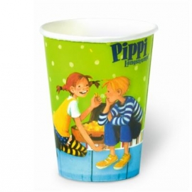 Oetinger - Pippi Langstrumpf Pappbecher (8 Stück)