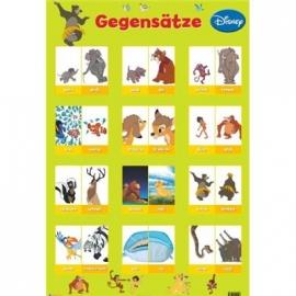 Nelson Verlag - Disney Klassiker - Disney Lernposter - Gegensätze
