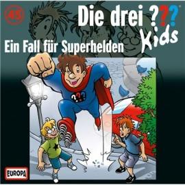Europa - Die drei ??? Kids CD Ein Fall für Superhelden, Folge 45