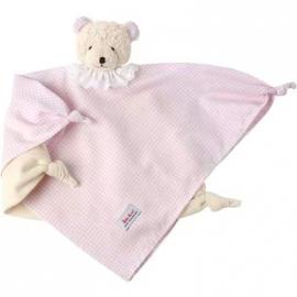 Käthe Kruse - Schmusetücher Bär vichy rosa