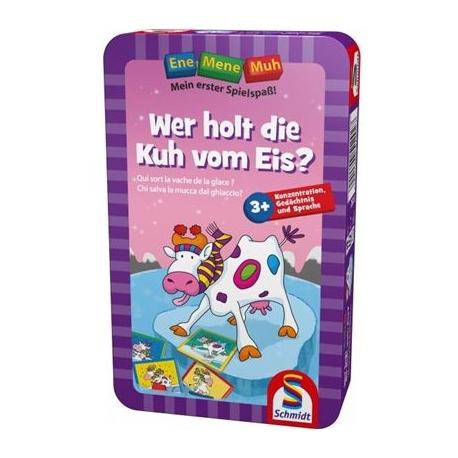 Schmidt Spiele - Ene Mene Muh: Wer holt die Kuh vom Eis?