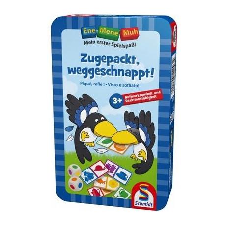 Schmidt Spiele - Ene Mene Muh: Zugepackt, weggeschnappt!