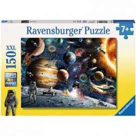 Ravensburger Puzzle - Im Weltall, 150 XXL-Teile