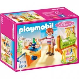 PLAYMOBIL® 5304 - Dollhouse - Babyzimmer mit Wiege