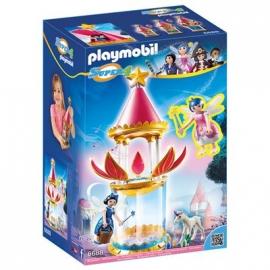 PLAYMOBIL® 6688 - Super 4 - Zauberhafter Blütenturm mit Feen-Spieluhr und Twinkle