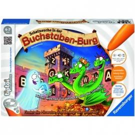 Ravensburger Spiel - tiptoi - Schatzsuche in der Buchstabenburg